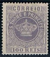 S. Tomé, 1870/7, # 7 Dent. 13 1/2, MH - St. Thomas & Prince