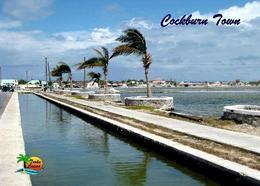 Turks And Caicos Grand Turk Island Cockburn Town View New Postcard - Turks- Und Caicosinseln