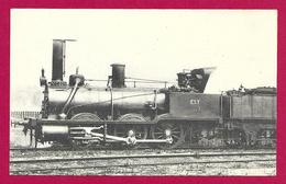 CPA Les Locomotives - Compagnie De L'Est - Machine Numéro 0225 à Vapeur Saturée - Equipo