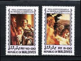 Maldivas Nº 982/3 Nuevo - Maldivas (1965-...)