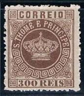 S. Tomé, 1870/7, # 9 Dent. 12 1/2, MH - St. Thomas & Prince
