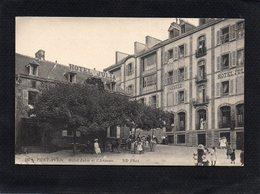 29  PONT AVEN L'HOTEL JULIA ET L ANNEXE  Trés Animée CPA1914 état Impeccable  N°107 ND Photo - Pont Aven
