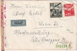 SLOVAQUIE 1944 PLI AERIEN DE BRATISLAVA - Slovaquie