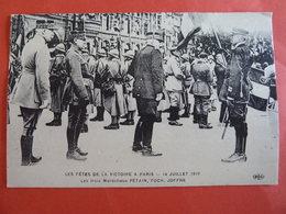 LES FETES DE LA VICTOIRE A PARIS LE 14 JUILLET 1919 - Manifestazioni