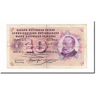 Billet, Suisse, 10 Franken, 1965, 1965-12-23, KM:45k, TB+ - Suisse