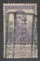 COB N° 117 Oblitération TONGRES  VOYAGEURS 1914 - 1912 Pellens