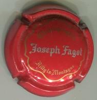 CAPSULE-CHAMPAGNE FAGOT Joseph N°14 Rouge Or & Argent - Autres