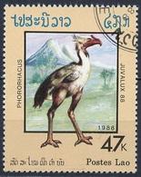 Laos 1988 Y&T N°848 - Michel N°1079 (o) - 47k Phororharus - Laos