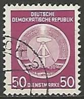 ALLEMAGNE / REPUBLIQUE DEMOCRATIQUE / DE SERVICE  N° 14 OBLITERE - Service