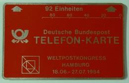 GERMANY - L&G - Landis & Gyr - Test - Weltpostkongress Hamburg - 1984 - 92 Units - R3... - Mint - T-Series : Tests