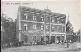 Lublinitz O. S. Kern, Wagenfabrik. - Polen