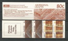 Australia 1987 Aboriginal Crafts Booklet  Y.T. C 1040 ** - Markenheftchen