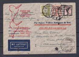 Deutsches Reich - 1932 - Zeppelinpost/Luftpost - Friedrichshafen/Pernambuco(Brasillien) Mit Ankunftsstempel - Covers & Documents