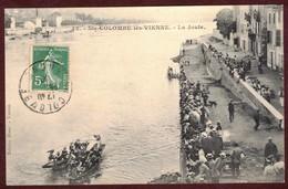 Sainte-Colombe La Joute Les Joutes Sport * Joute Nautique * Rhône 69560 * Sainte Colombe Lès Vienne Canton De Mornant - Autres Communes