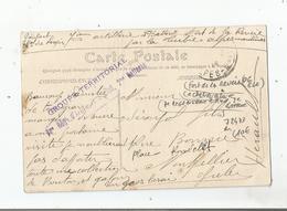 FORT DE LA REVERE (06 EZE) CACHET MILITAIRE GROUPE TERRITORIAL 7 E REGIMENT D'ARTILLERIE A PIED 2 EME BATTERIE - Marcophilie (Lettres)
