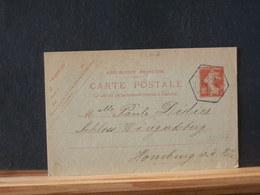 85/377  CP   FRANCE  1919 OBL NIEDER.... - 1906-38 Semeuse Camée