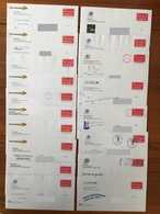 Lot De 29 PRETS A POSTER Invitations Premier Jour Et Salons Philatéliques - Vignette Ceci Est Une Invitation - 2004/2007 - Prêts-à-poster:Stamped On Demand & Semi-official Overprinting (1995-...)