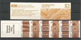 Australia 1987 Aboriginal Crafts Booklet  Y.T. C 1041 ** - Markenheftchen