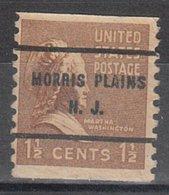 USA Precancel Vorausentwertung Preo, Bureau New Jersey, Mooris Plains 840-61 - Vereinigte Staaten