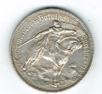 Portugal 1o Escudos 1928 Arg (Prata) Batalha Ourique 1139 - Portugal