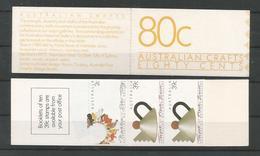 Australia 1988 Australian Crafts Booklet  Y.T. C 1098A ** - Libretti