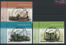 BRD Mi.-Nr.: 2946-2948 (kompl.Ausg.) Gestempelt 2012 Historische Dampflokomotiven (9316184 - BRD