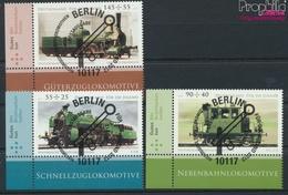 BRD Mi.-Nr.: 2946-2948 (kompl.Ausg.) Gestempelt 2012 Historische Dampflokomotiven (9336034 - BRD