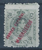 TA5SF-L3153TSC.Marruecos.    Maroc.Marocco.TANGER   ESPAÑOL ALFONSO Xlll..1909/14.(Ed 5**)sin Charnela. BONITO - Sellos