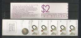 Australia 1988 Australian Crafts Booklet  Y.T. C 1098B ** - Libretti