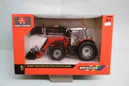 Britains Tomy - Tracteur MASSEY FERGUSSON 6616 Réf. 43082A1 Neuf NBO 1/32 - Modèles Réduits