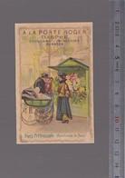 Chromo Fin XIXè / Petit Métier Marchande De Fleurs Paris Pittoresque / Daspre, Fougeres, St-Hilaire, St-Brice - Chromos