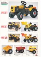 Prospectus Tracteur Enfant Renault - Agriculture