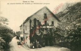12.  GRAND HOTEL DU ROZIER Par PEYRELEAU .  AVEYRON . GORGES DU TARN . - Altri Comuni