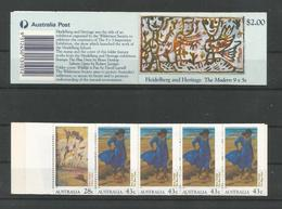 Australia 1990 Art Booklet  Y.T. C 1184 ** - Markenheftchen