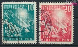 BRD Mi.-Nr.: 111-112 (kompl.Ausg.) Gestempelt 1949 1. Bundestag (9146742 - BRD