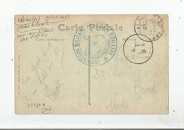 ORLEANS (LOIRET) CARTE AVEC CACHET MILITAIRE (COMMISSAIRE MILITAIRE DE LA GARE D'ORLEANS) PERIODE GUERRE 1914 1918 - Marcophilie (Lettres)