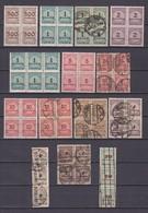 Deutsches Reich - 1923 - Michel Nr. 313/15+317/18+323+325/26+329 - Gest./Postfrisch - 85 Euro - Germany