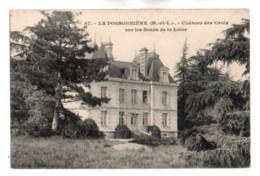 (49) 750, La Possonnière, Collection Augers 87, Château De Croix Sur Les Bords De La Loire - Andere Gemeenten
