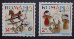 Rumänien     Historisches Spielzeug    Europa Cept   2015  ** - 2015