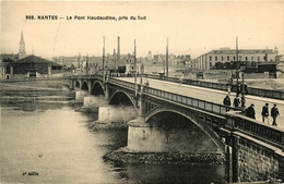 Nantes - Le Pont Haudaudine , Pris Au Sud - Animation - Nantes