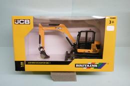 Britains Tomy - Excavatrice MIDI JCB 86C-1 Excavator Réf. 43013 Neuf NBO 1/32 - Scale Models