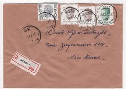 Aangetekende Brief Wilrijk 1 K 1 - Entiers Postaux