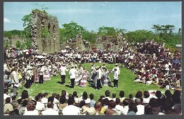 CP  FF-337-the Well-known Group Of Folklore Entertainers Canajagua Presenting Native Music And Typical Dance In Old - Panama