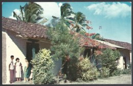 CP  FF-073- Typical Dwellings In A Village  Of Panama  Interior. Unused - Panama