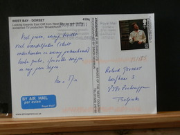 85/385   CP POUR LA BELG. - Storia Postale