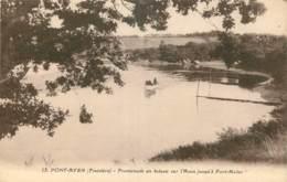 29 - PONT AVEN - PROMENADE EN BATEAU SUR L'AVEN JUSQU'A PORT MALEC - Pont Aven