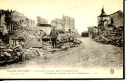 Dpt 55 Clermont En Argonne Apres Le Bombardement Guerre 14-18 - France