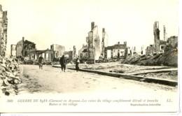 Dpt 55 Clermont En Argonne Les Ruines Du Village Guerre 14-18 - France