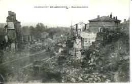 Dpt 55 Clermont En Argonne Rue Gambetta Guerre 14-18 - France
