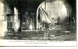Dpt 55 Dombasle En Argonne Interieur De L Eglise Guerre 14-18 - France